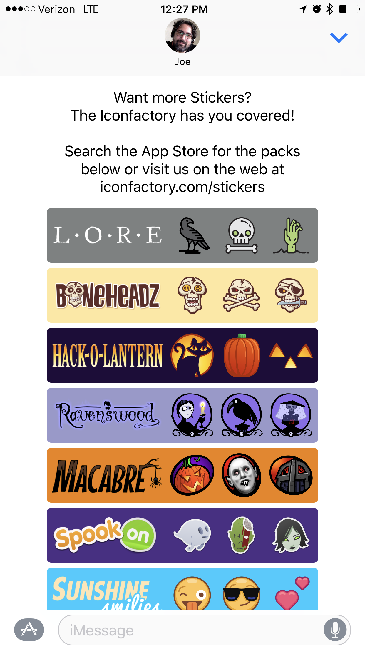 Iconfactory More Page